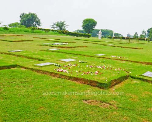lahan makam single burial di grace mansion san diego hills