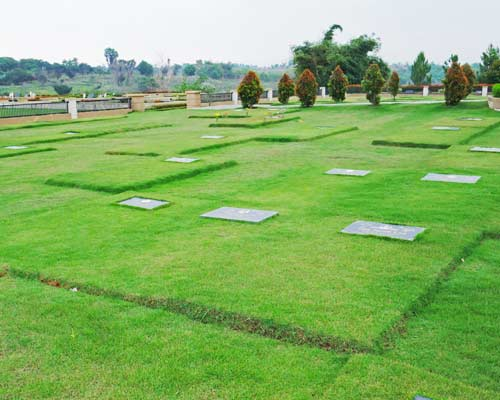 lahan single burial
