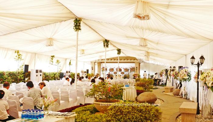 tenda acara pemakaman vvip di san diego hills