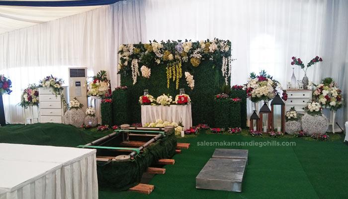dekorasi bunga untuk pemakaman vip di san diego hills
