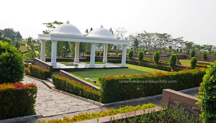 lahan private gazebo mercy di san diego hills