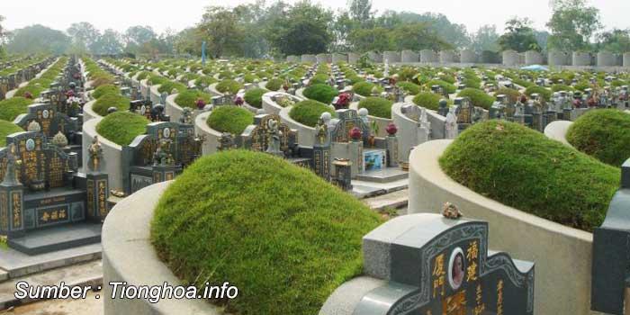 contoh makam tradisional china